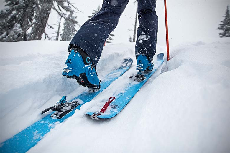 Esquís de descenso Mercado