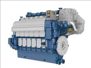 Motor marino de combustible dual Mercado
