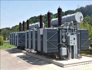 Transformadores de potencia grandes