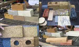 Compuestos de construcción orgánicos