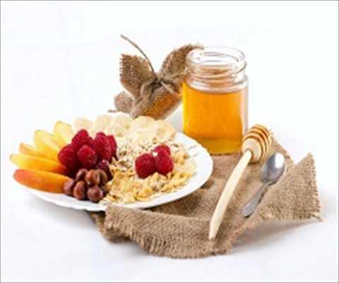 Comida con miel Mercado