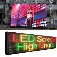 Pantalla de visualización LED Mercado