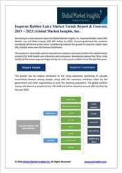 Mercado global de informes de isopreno