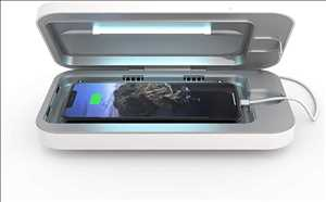 Esterilizador de teléfono celular con luz ultravioleta